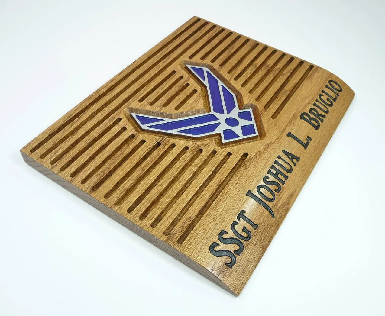 Air Force Coin Holder Display Custom Personalized Military