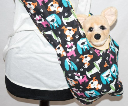 Medium Of Dog Carrier Sling
