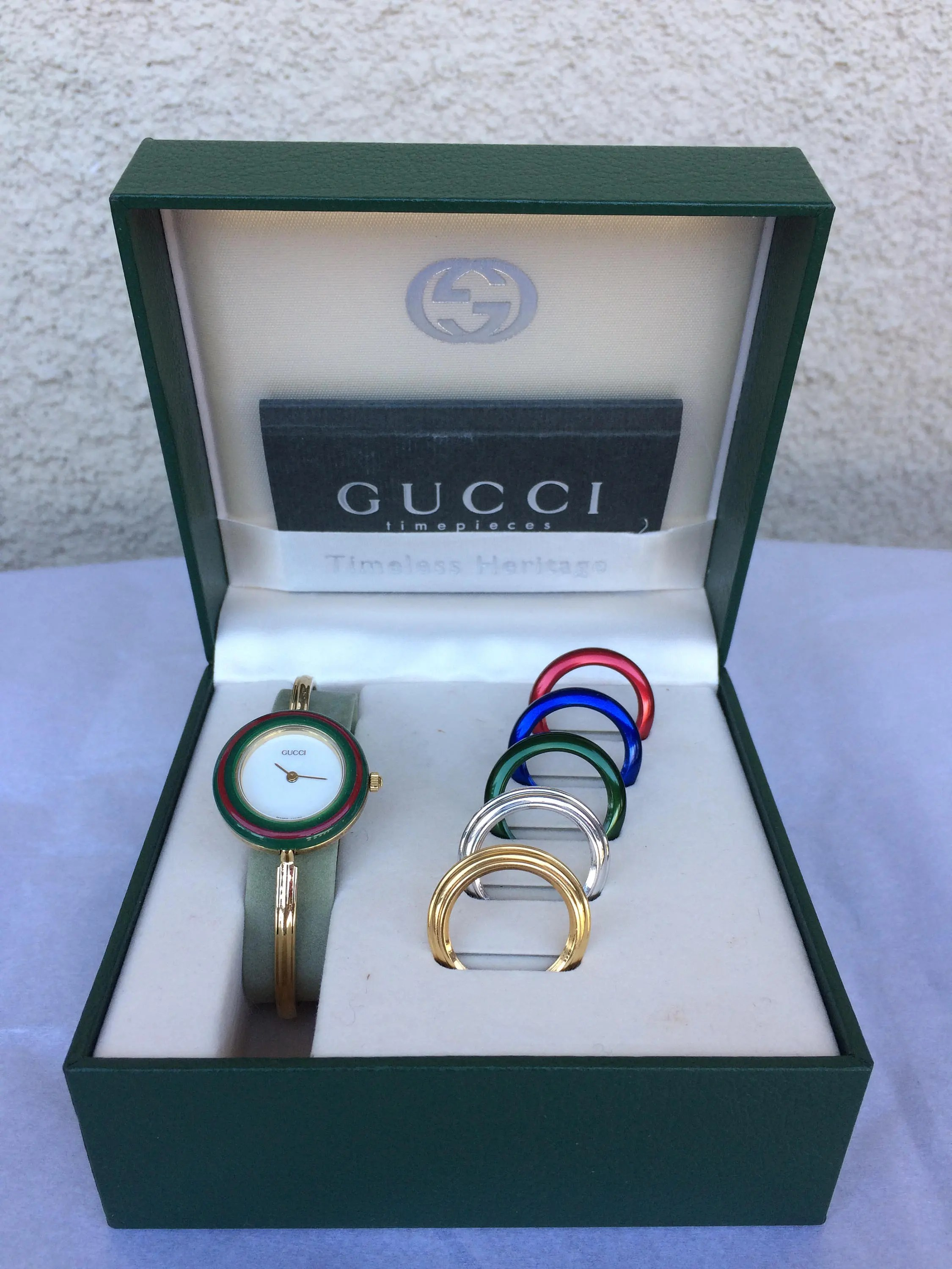 Etsy Vintage Gucci Vintage Gucci Interchangeable Bezels Watch