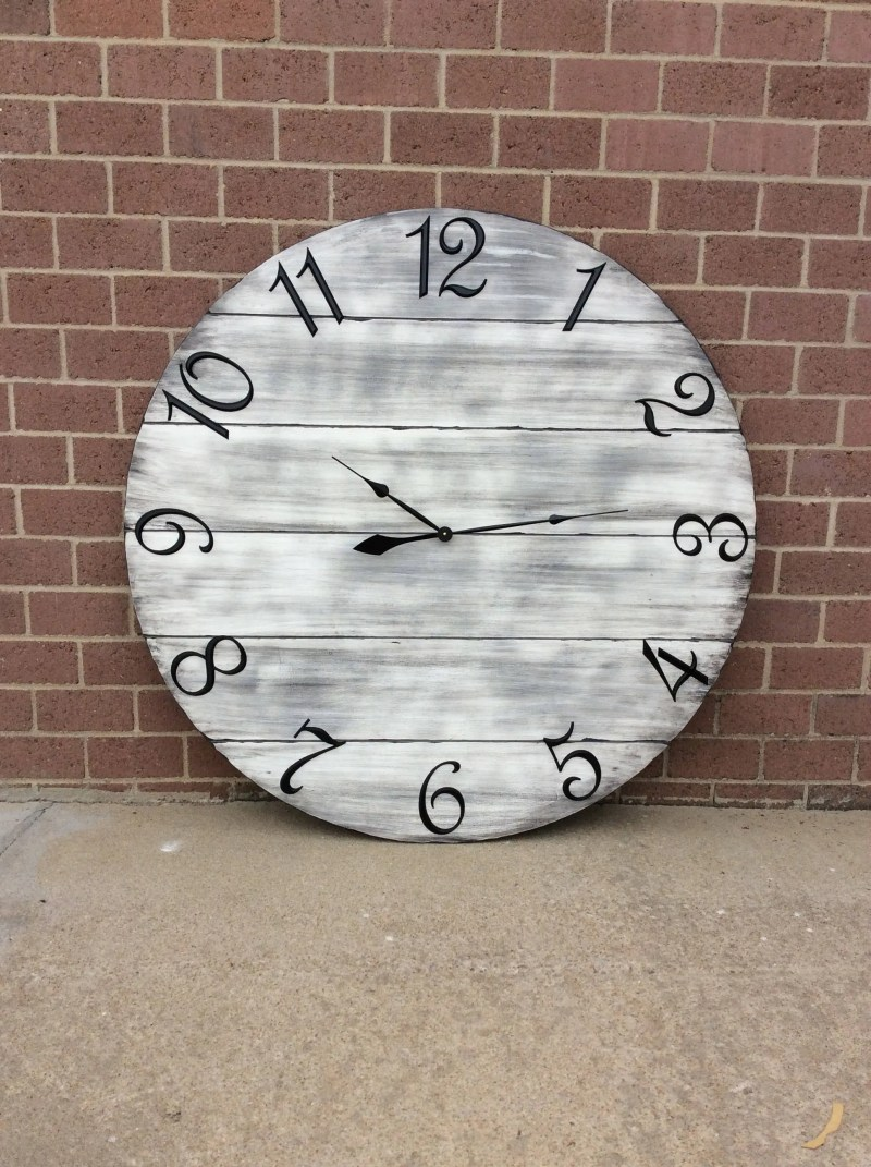 Large Of Oversized Wall Clocks