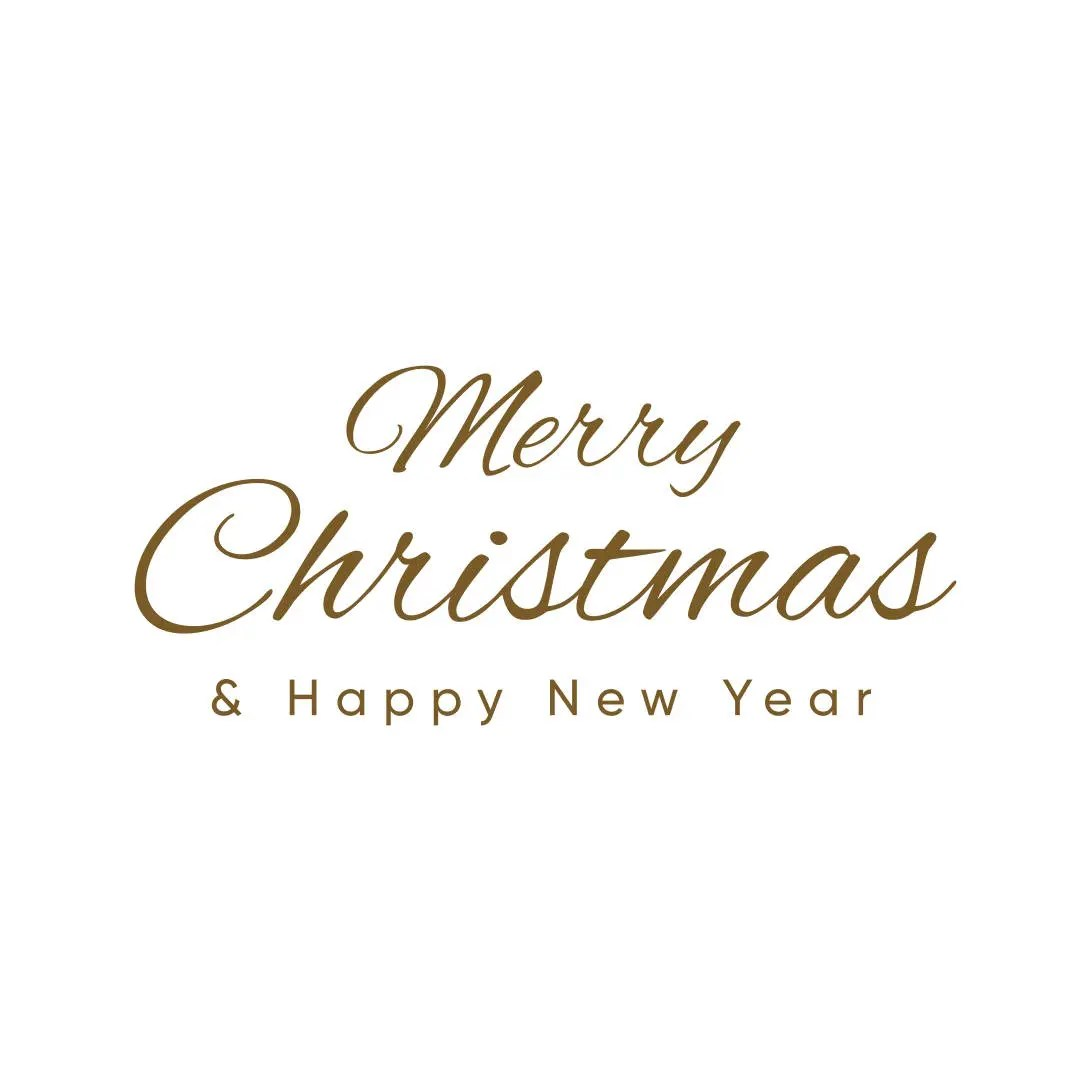 Merry Christmas and happy new year Graphics SVG Dxf EPS Png Etsy
