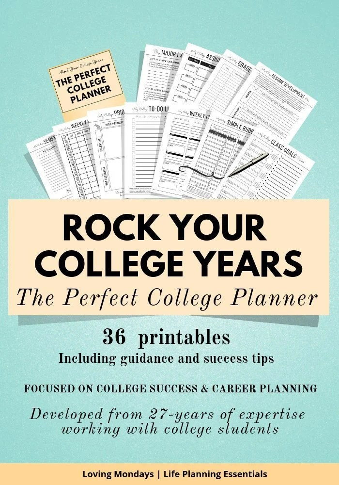 College Planner Designed to help students find their focus Etsy
