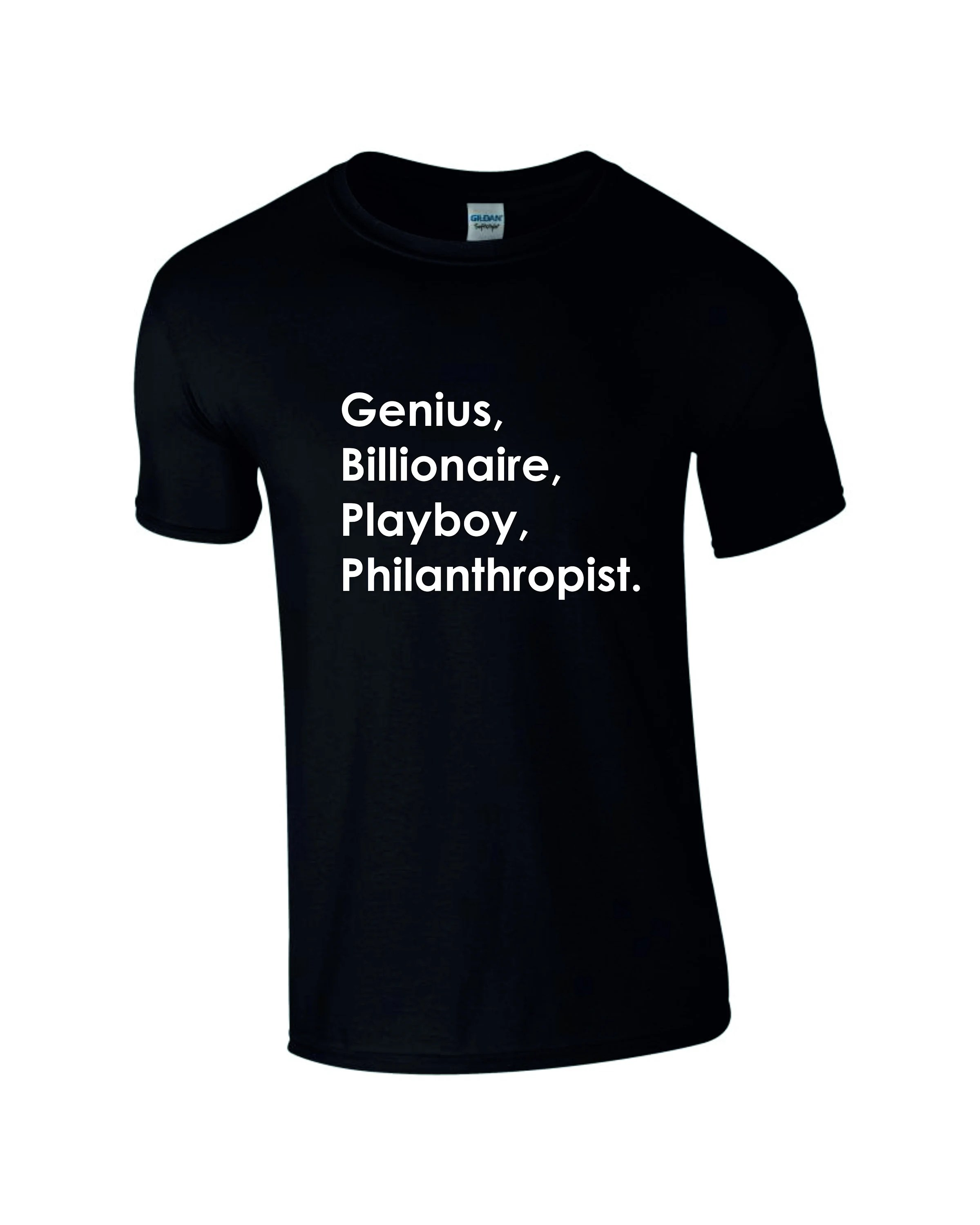 Genius Bambus Kissen Genius Billionaire Playboy Philanthropist Ironman Quote T Shirt