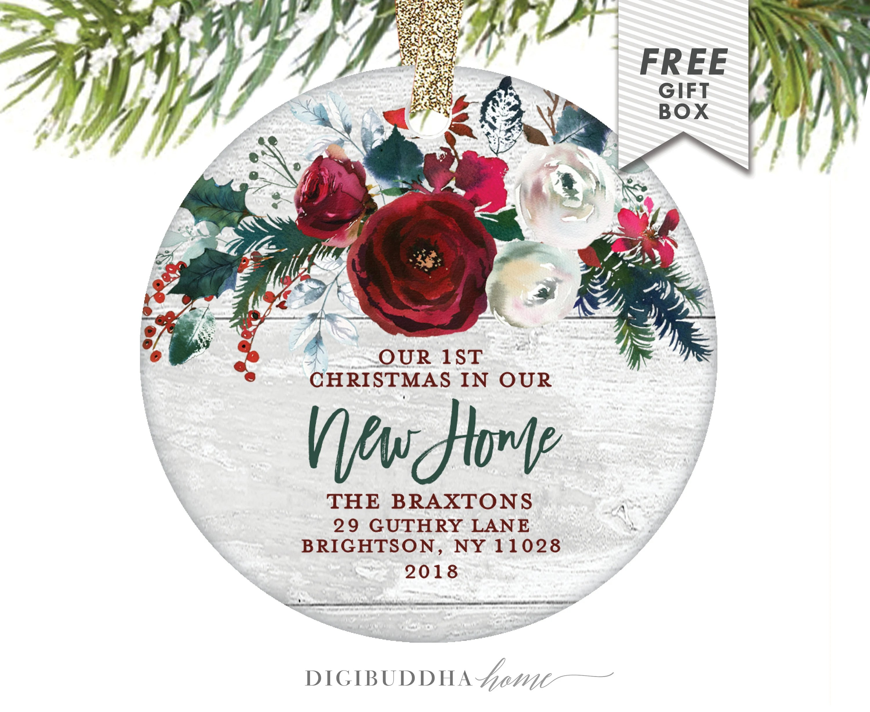 Gift Ideas For New Homeowner New Homeowner Gift Ideas Our 1st Christmas In Our New Home