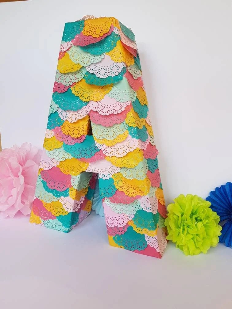 Party Pinata Personalised Letter Or Number Pinata Very Popular Wedding Pinata Birthday Party Piñata In Your Choice Of Letter Or Number