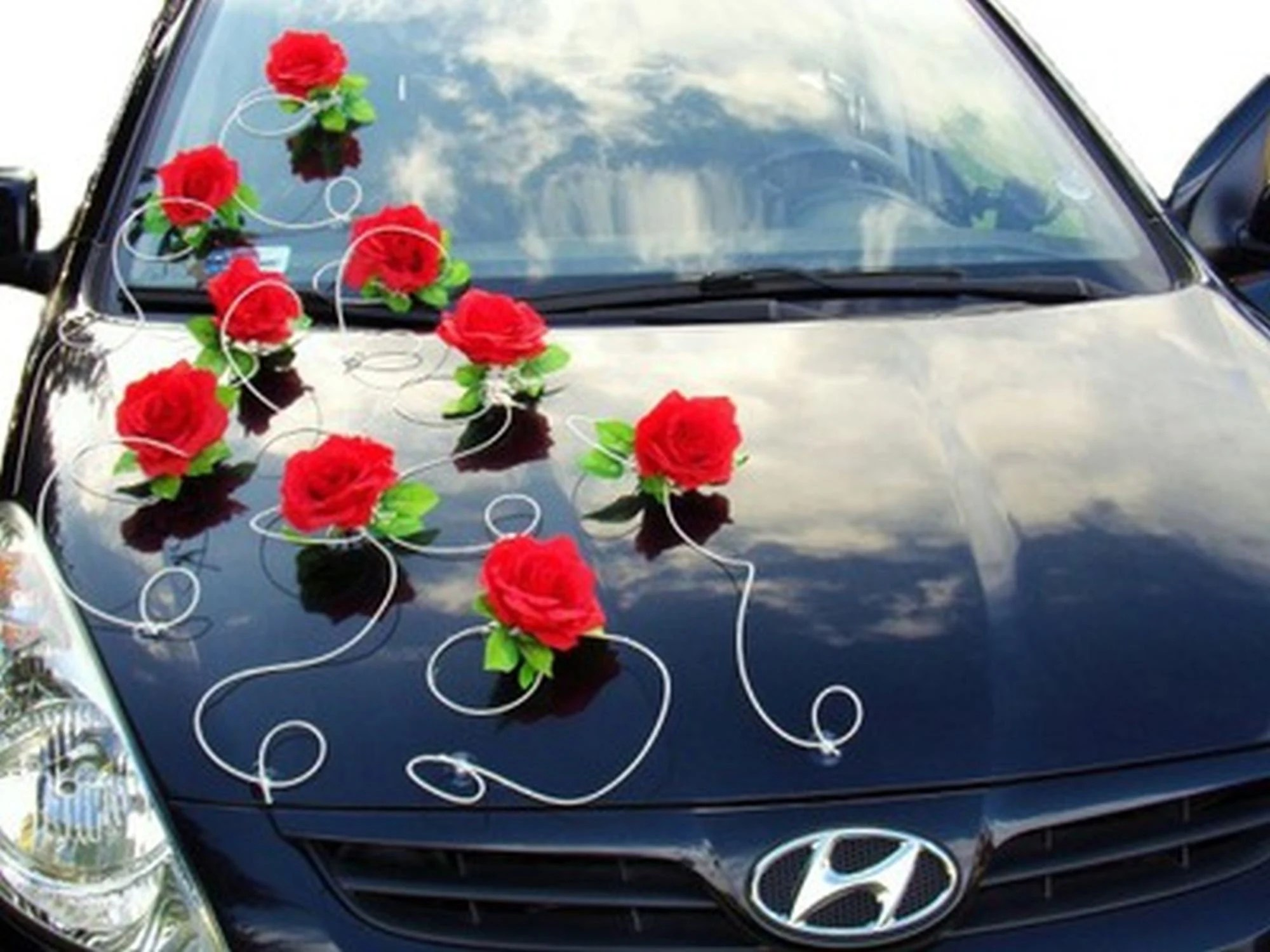 Car Decoration Weding Wedding Car Decoration
