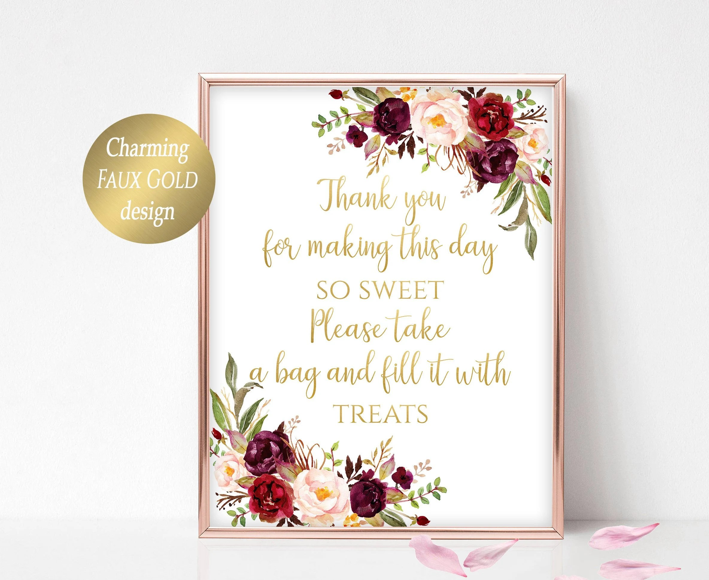 Candy Buffet Sign Printable Candy Bar Sign Sweets Table Candy Etsy