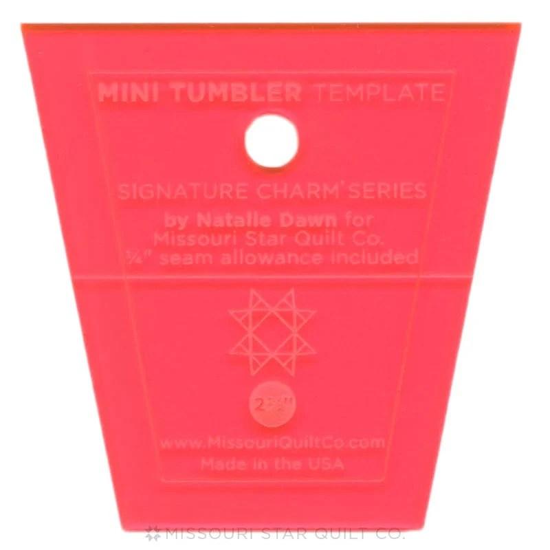 Missouri Star Limited Edition Mini Tumbler Template For Etsy - tumbler template