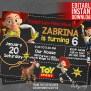 Jessie Toy Story Invitation Download Jessie Birthday Party