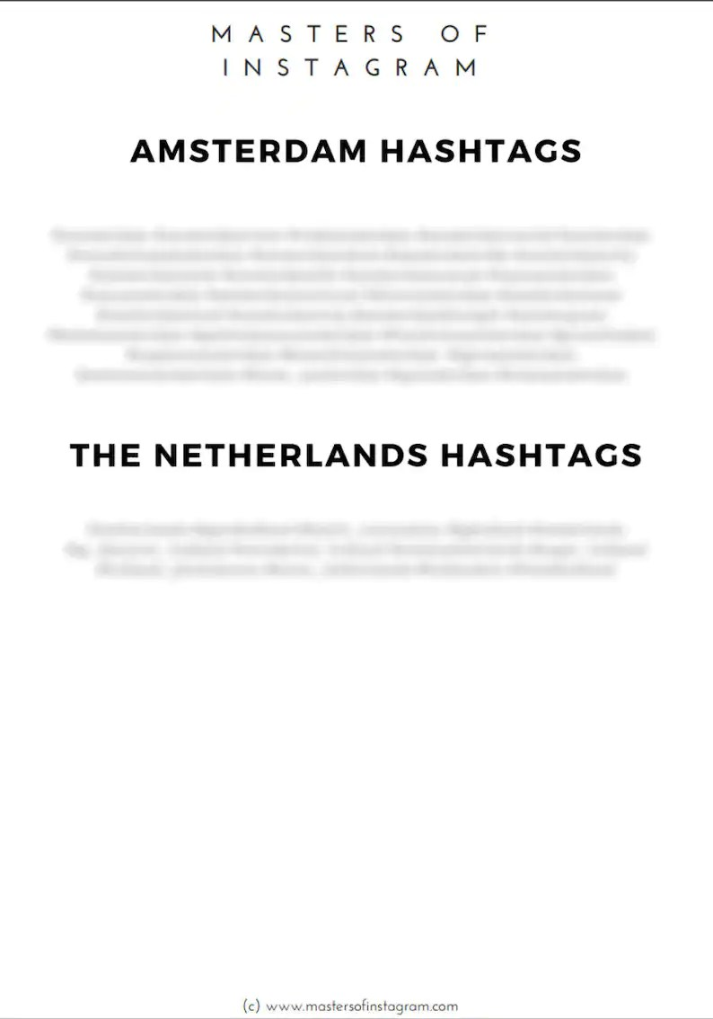 Tuinieren Hashtags Amsterdam Netherlands Hashtags Instagram Travel Hashtags Instagram Marketing Travel Blogger Hashtag Research Grow Your Instagram
