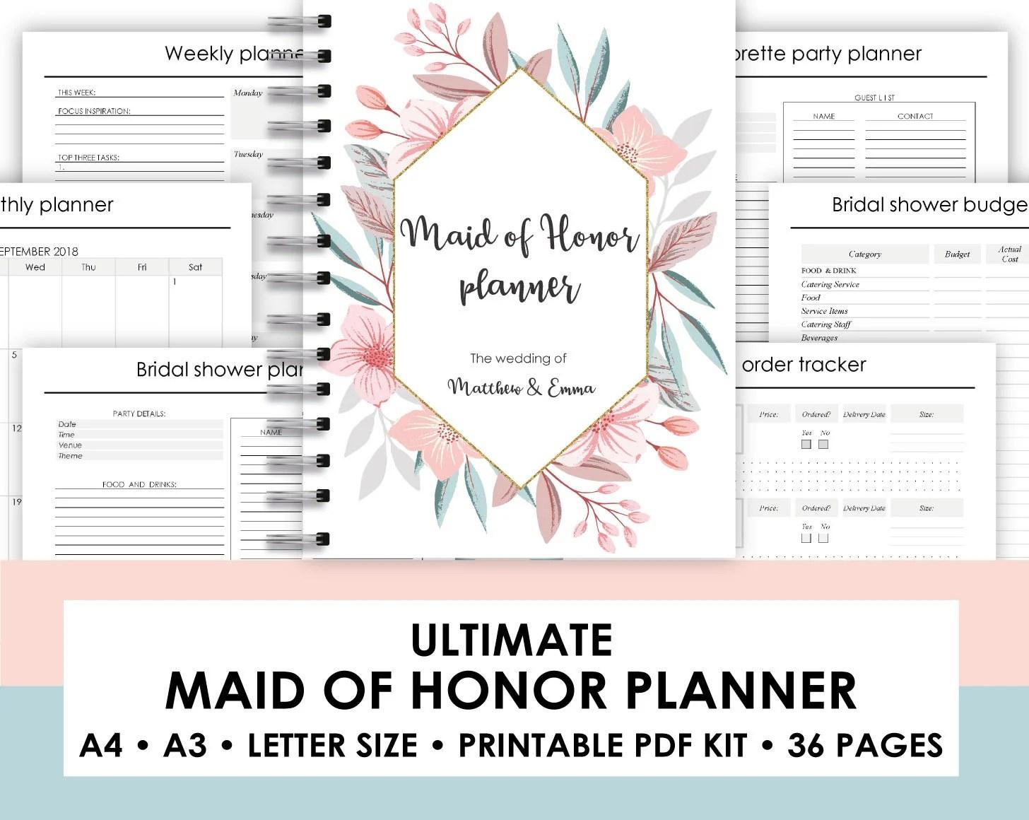 downloadable wedding planner - Pinarkubkireklamowe