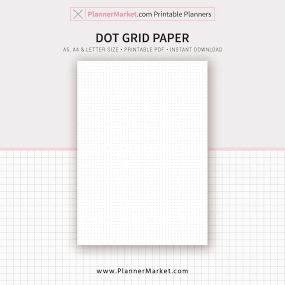 photo relating to Free Printable Dot Grid Paper titled free of charge printable dot graph paper -
