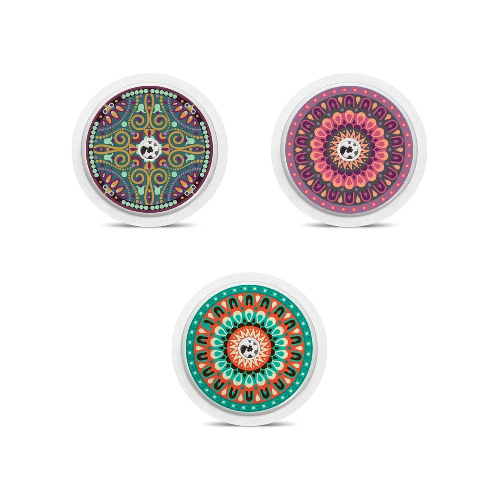 Comprar Sensor Freestyle Libre 3 Freestyle Libre Sensor Stickers Mandalas My Lovely Bird
