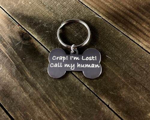 Medium Of Funny Dog Tags