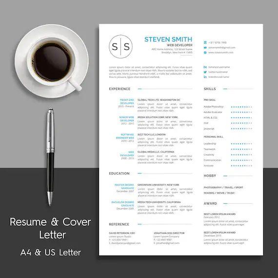 cv et lettre detaillees