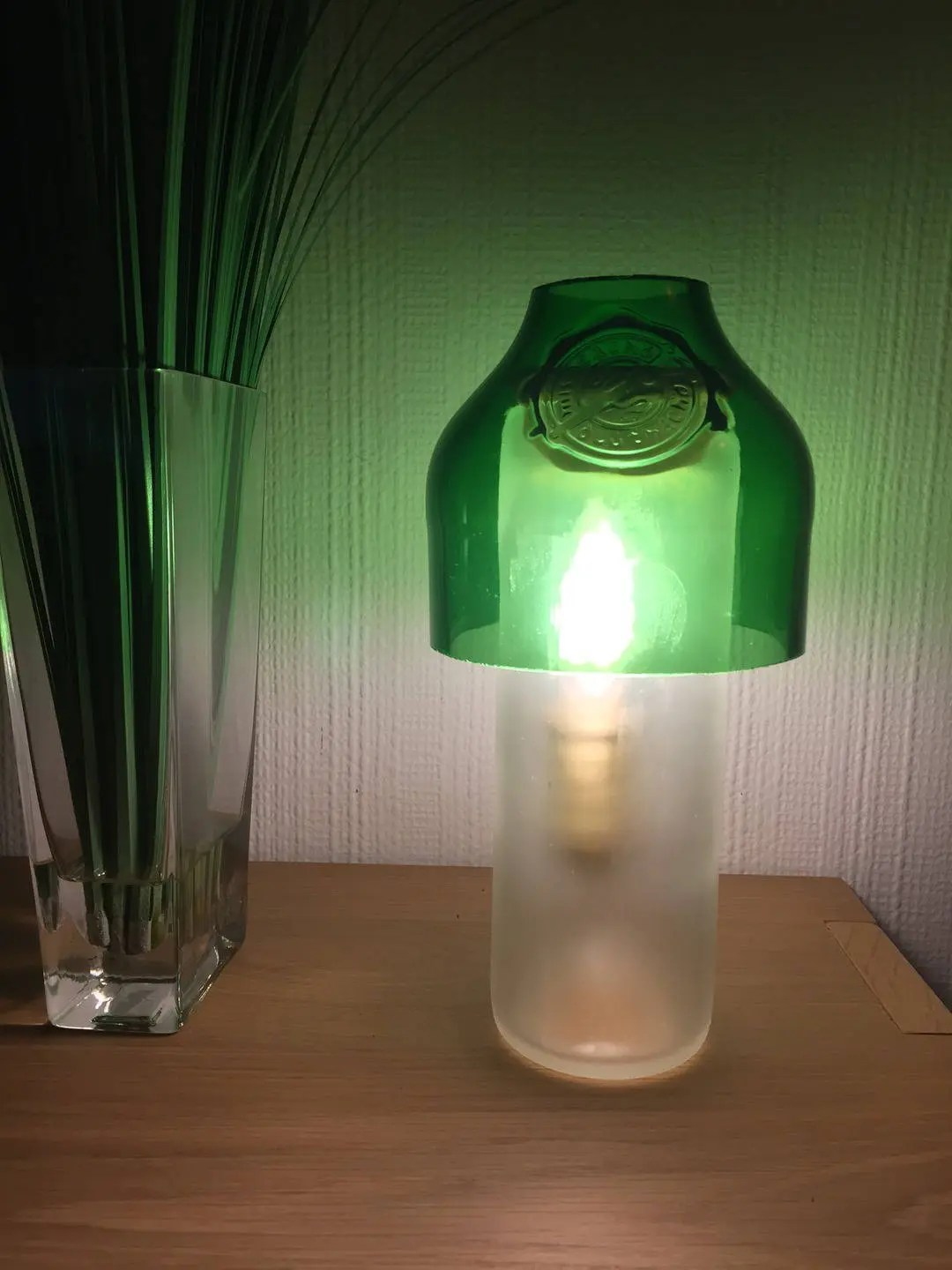 Recycled Plastic Bottle Lamp Recycled Glass Bottle Lamp