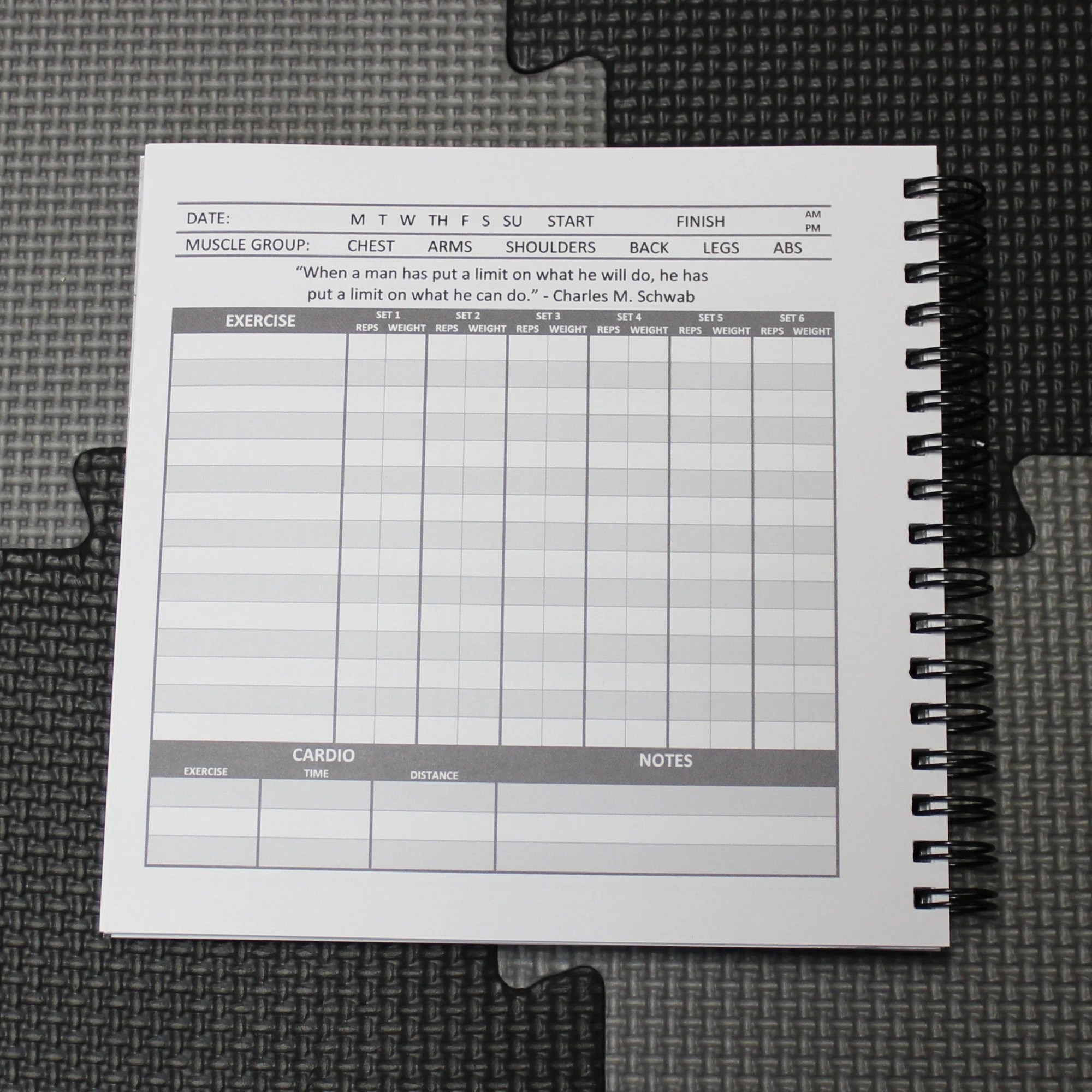 Musculus The Workout and Nutrition Journal Fitness Journal Etsy
