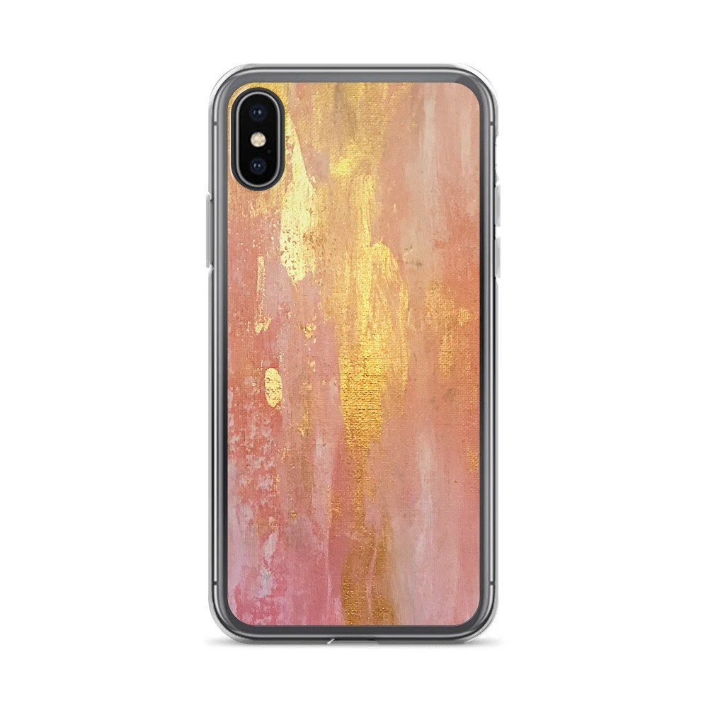 Smartphone Cases Rose Gold Iphone Case Abstract Print Smartphone Cases Iphone X Cases Summer Cases Cute Chic Phone Cases