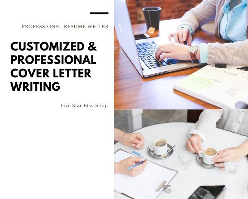 Cover Letter Writing Resume Writing Resume writer Etsy