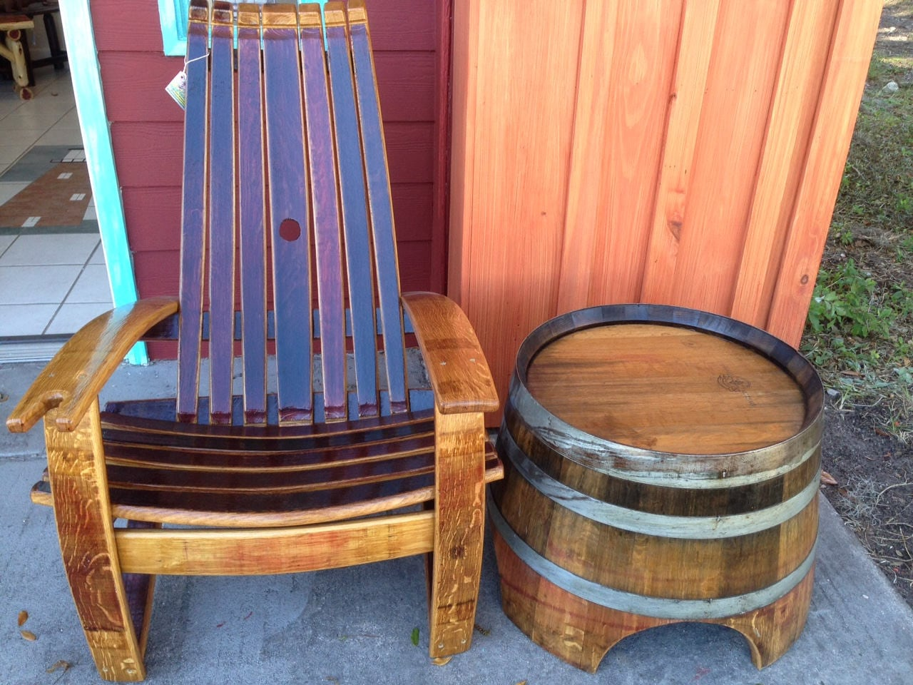 Chairs Comfortable Wine Barrel Chairs Whiskey Barrel Chairs Comfortable Adirondack Chairs Southeast Delivery Only