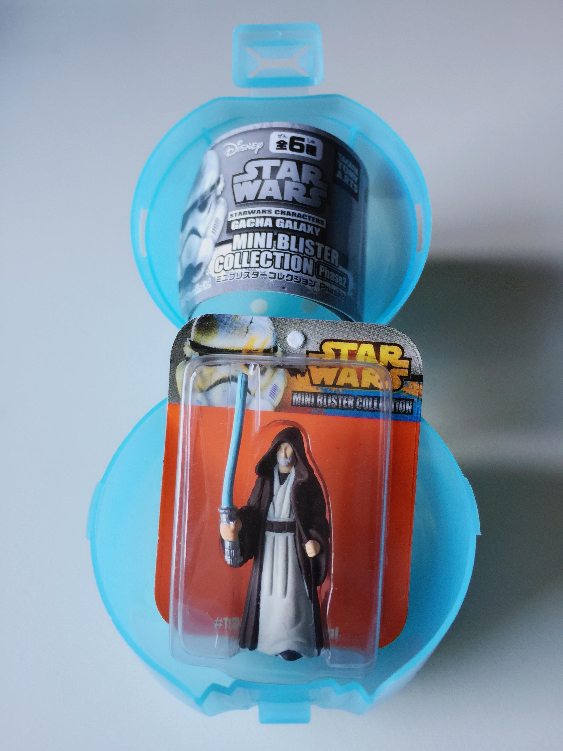 Toy Capsule Toys Star Wars Capsule Toy Mini Blister Collection Obi Wan Kenobi Mini Figurine Japanese Gashapon Tomy A R T S