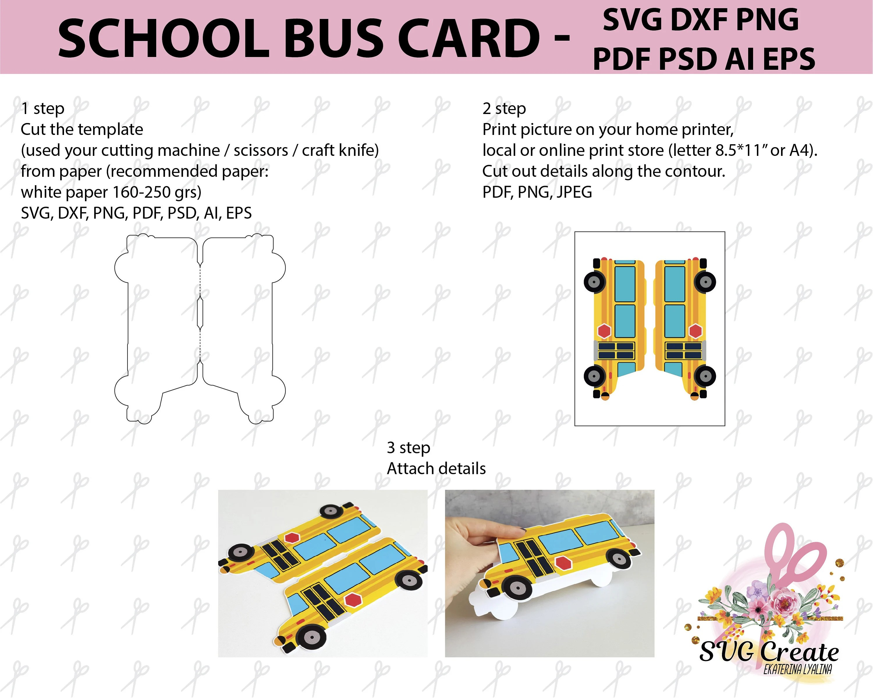 School bus bus driver gift 1st day of school diy back to Etsy