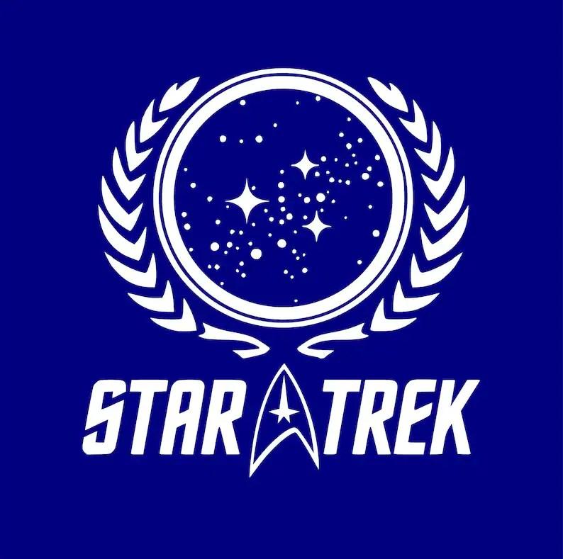 STAR TREK SVG logo Star Trek cut files Star Trek clipart Etsy