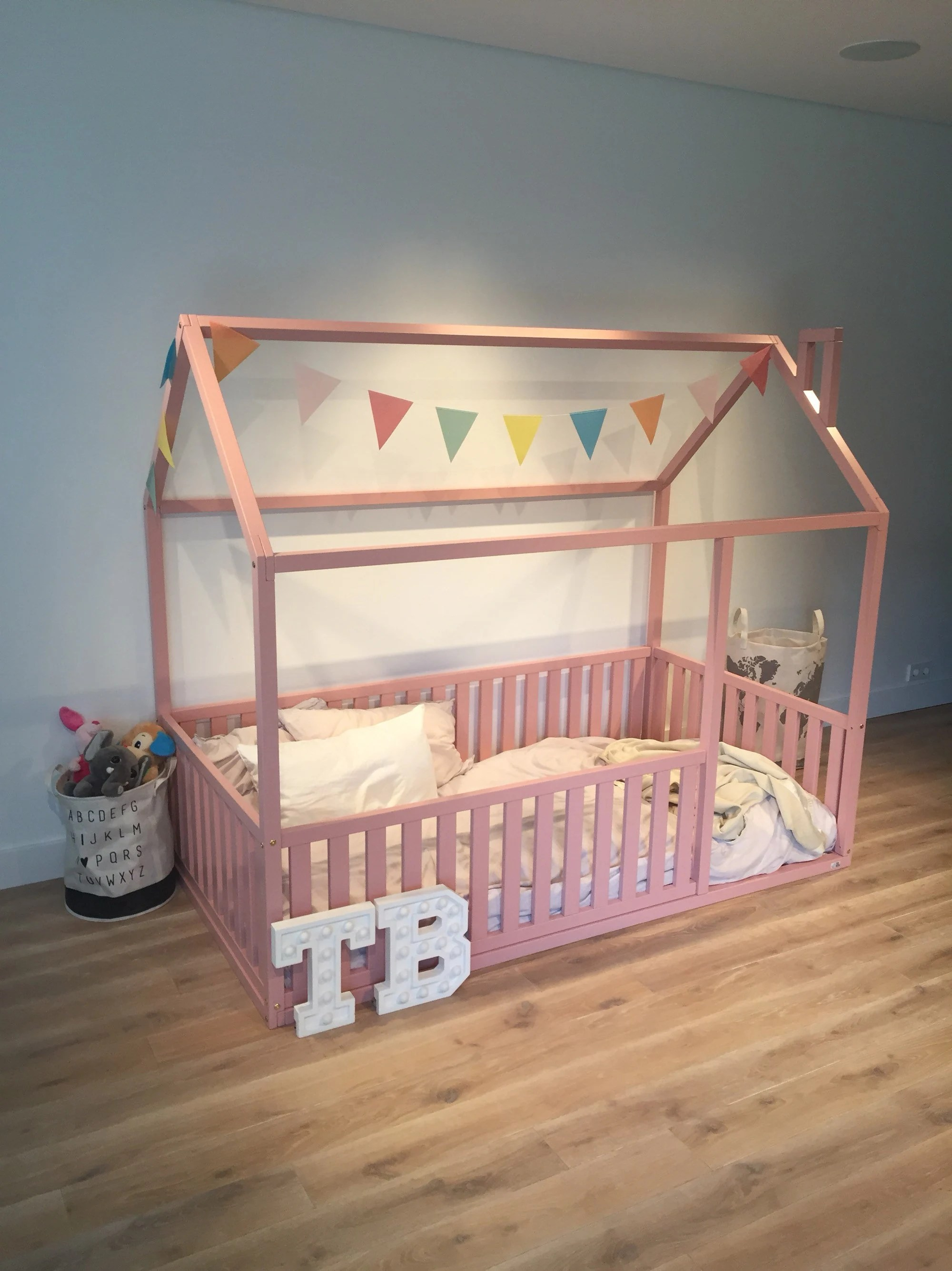 Full Double Bed Pink Toddler Bed Full Double Size Children Bed House Frame Bed