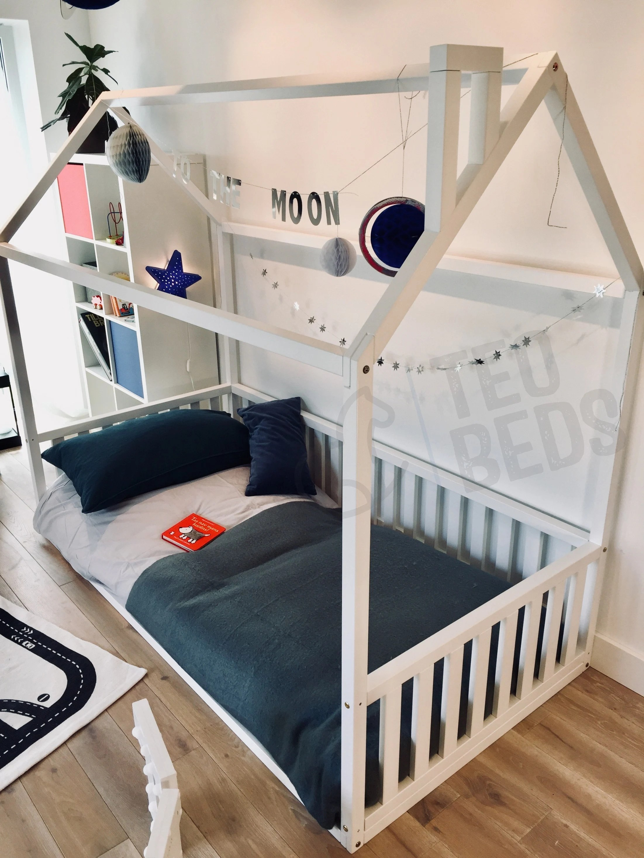 Chambre Enfant Double Toddler Bed Full Double Treehouse Bed House Bed Children Bed