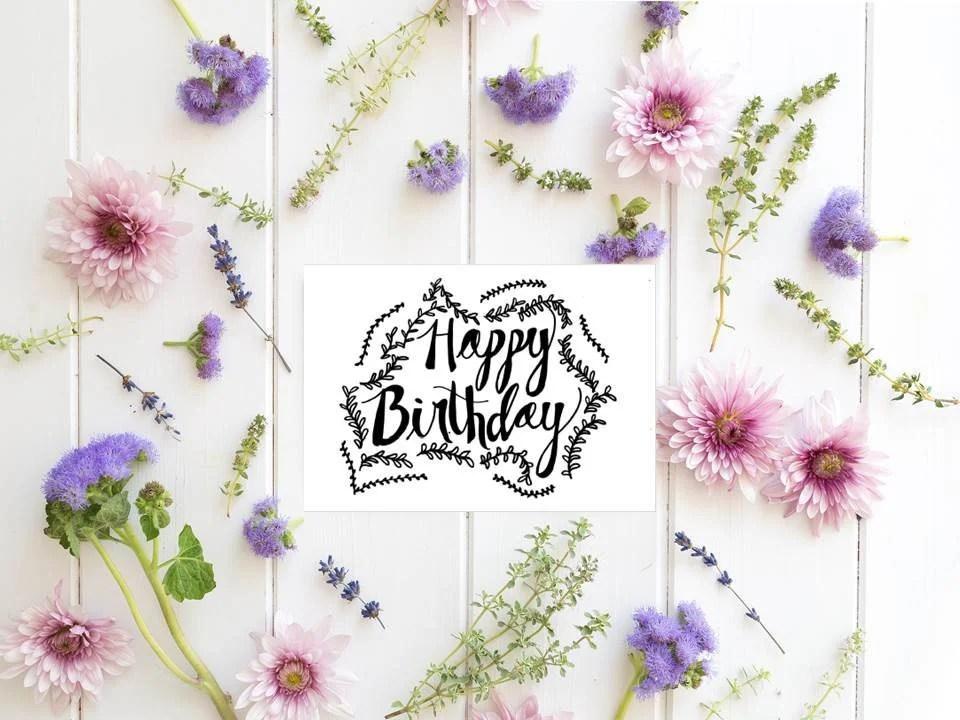 Printable birthday card for man or woman versatile birthday Etsy