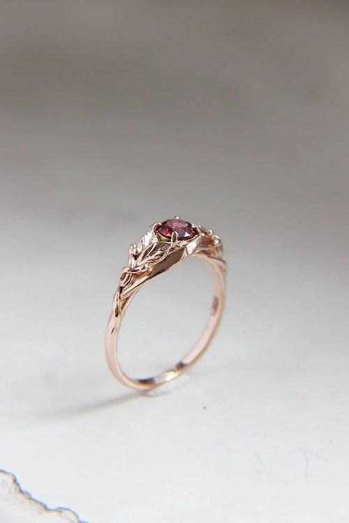 Medium Of Engagement Rings Gold