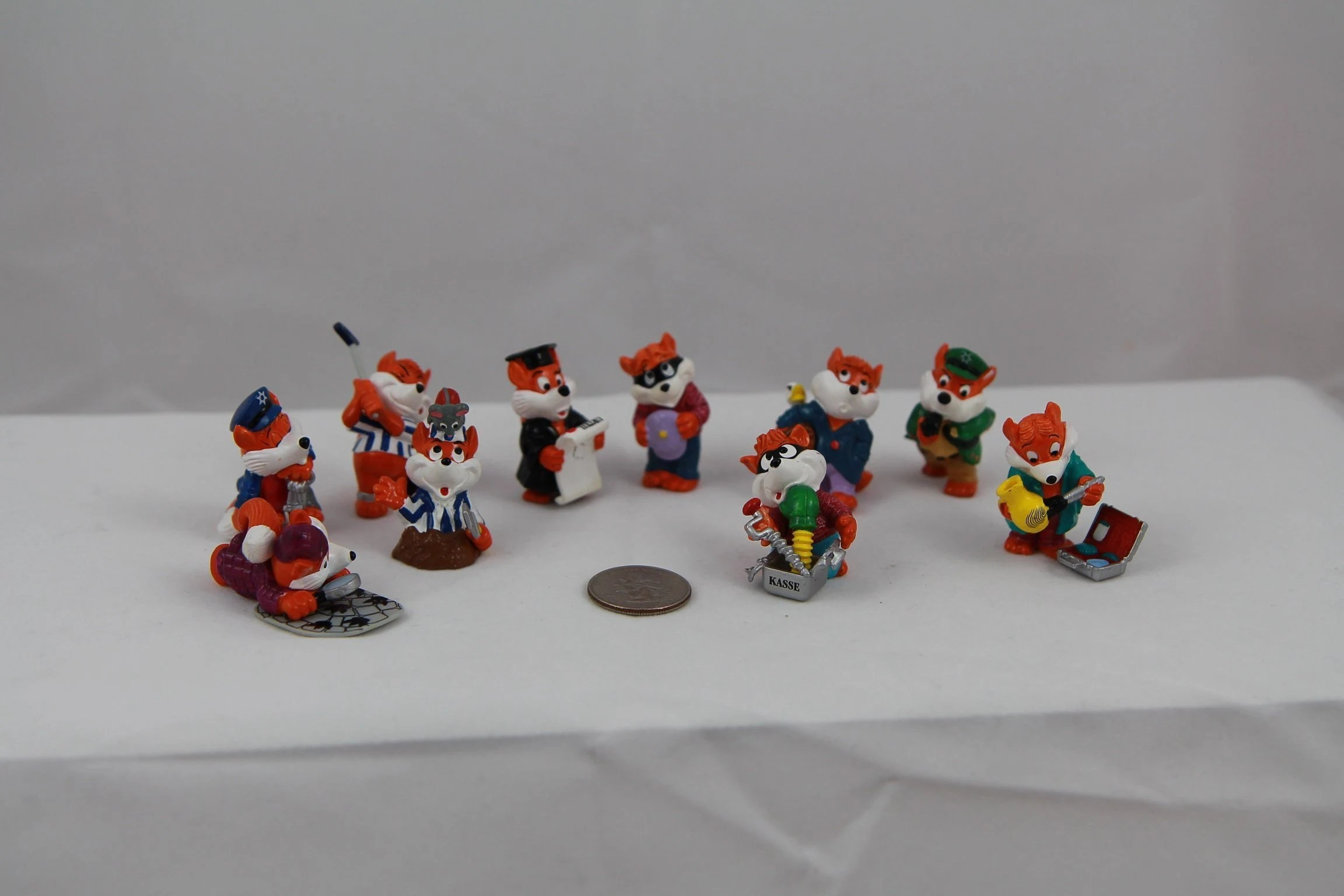 Kinder Kasse Kinder Egg Fancy Foxes Kinder Egg Fancy Fuxies Fancy Foxes Set Fancy Foxes Police And Criminals Complete Kinder Egg Fancy Foxes Set