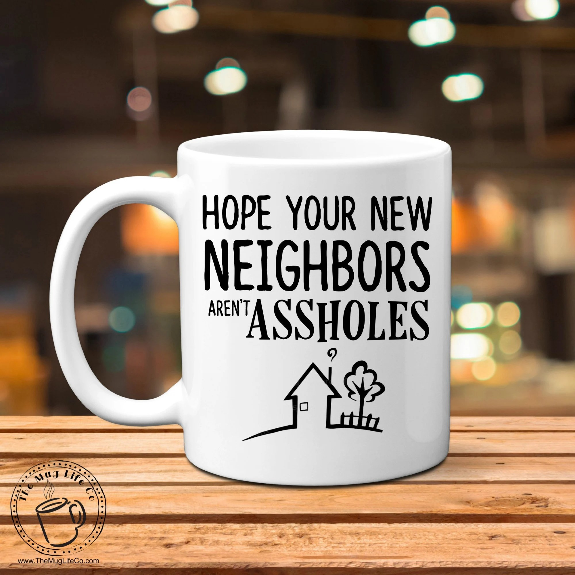 Gifts For New Homeowner Funny Housewarming Gift New Home Gift New Neighbors