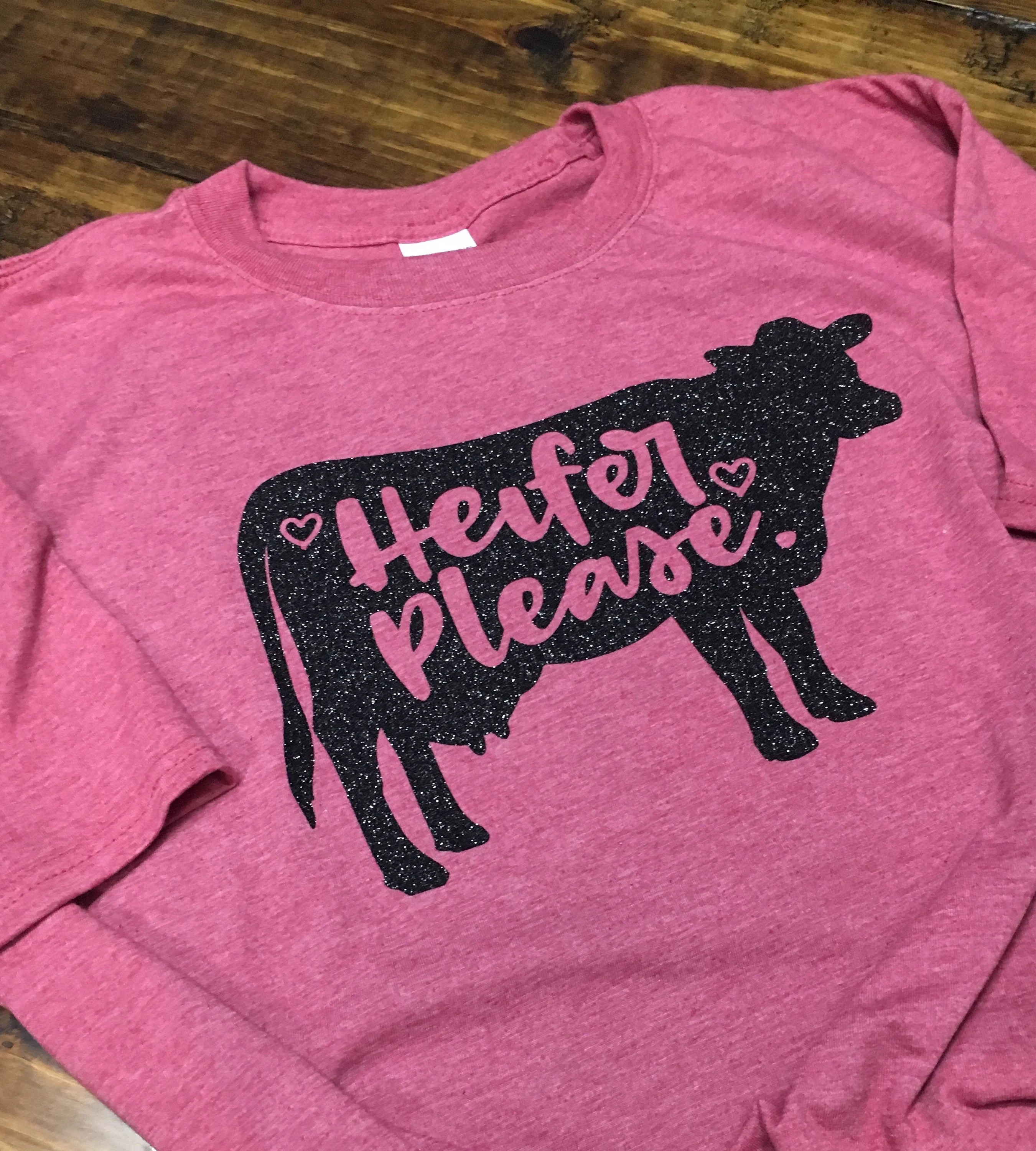 Jb Lighting T-shirt Heifer Please Shirt Triblend Soft Tshirt Cow