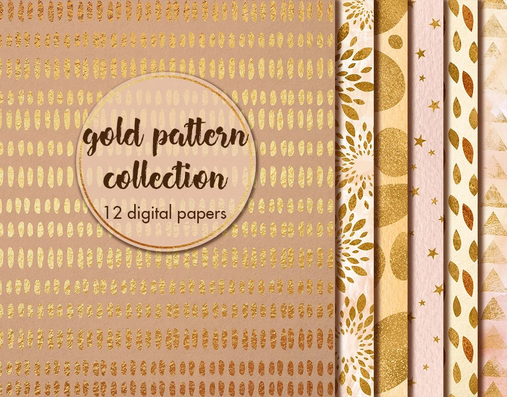 Metallic Gold Wallpaper Gold Abstract Textures Gold Digital Paper Gold Wallpaper Gold Background Metallic Digital Papers Collage Sheets Wedding Papers