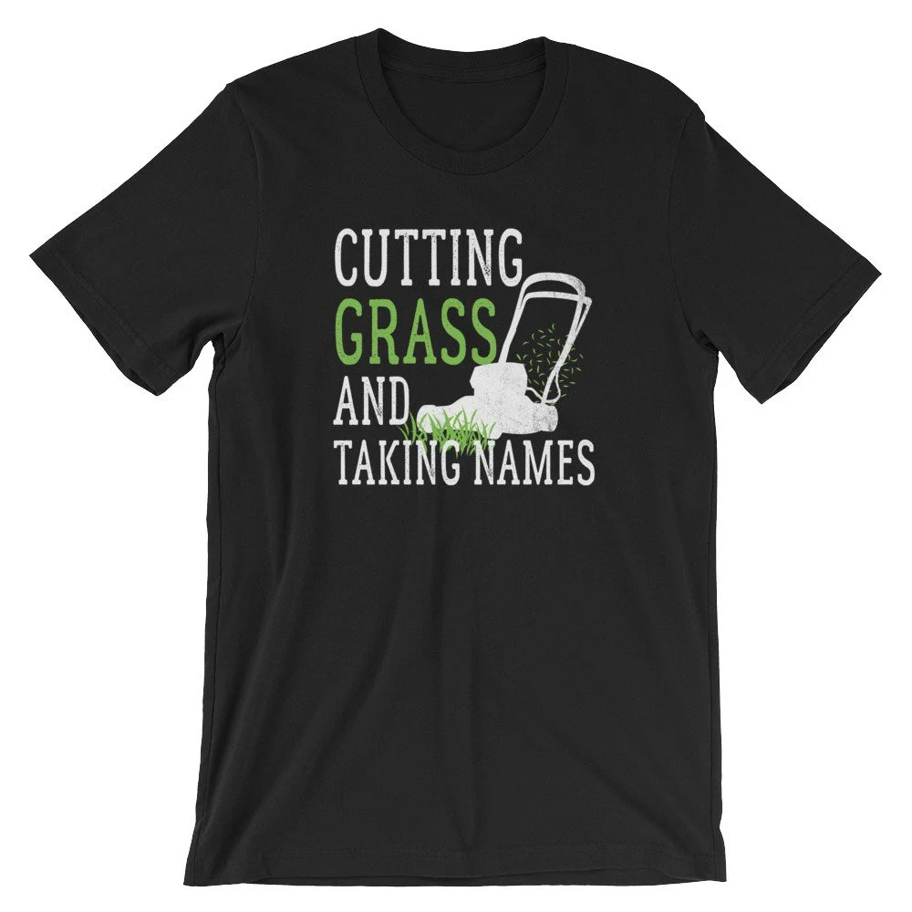 Lawn Mowers T-shirt / Cutting Grass Funny Lawn Care Shirts / Etsy