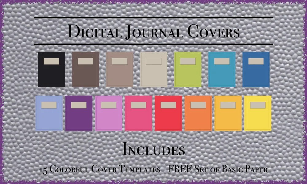 Digital Journal Cover Templates Perfect for GoodNotes and Etsy