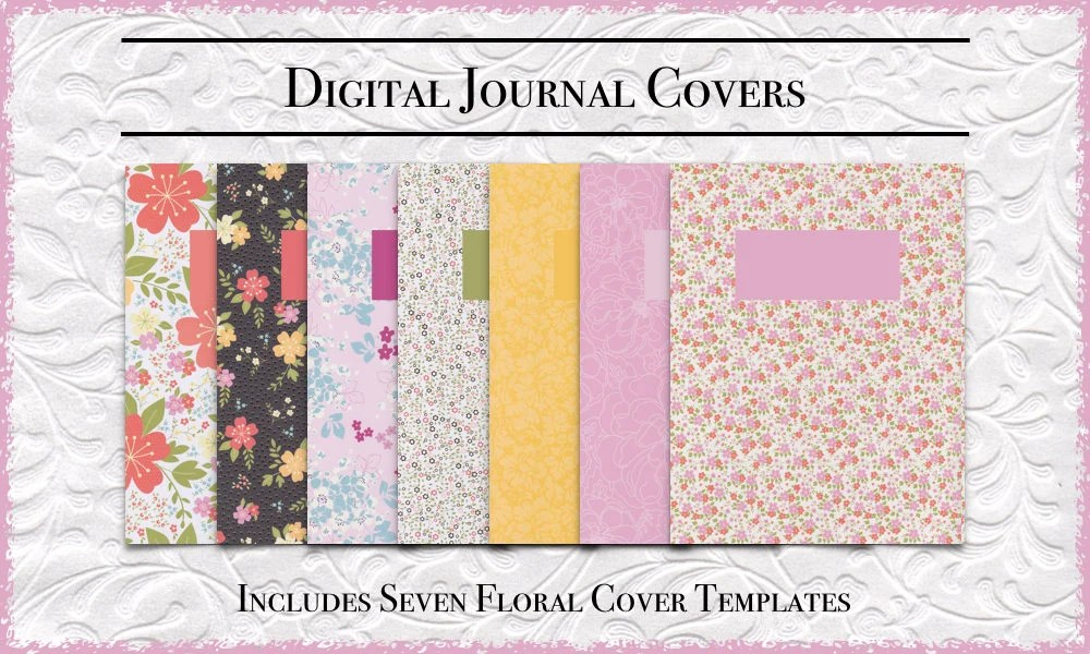 GoodNotes Journal Cover Templates DigiBujo Covers Etsy