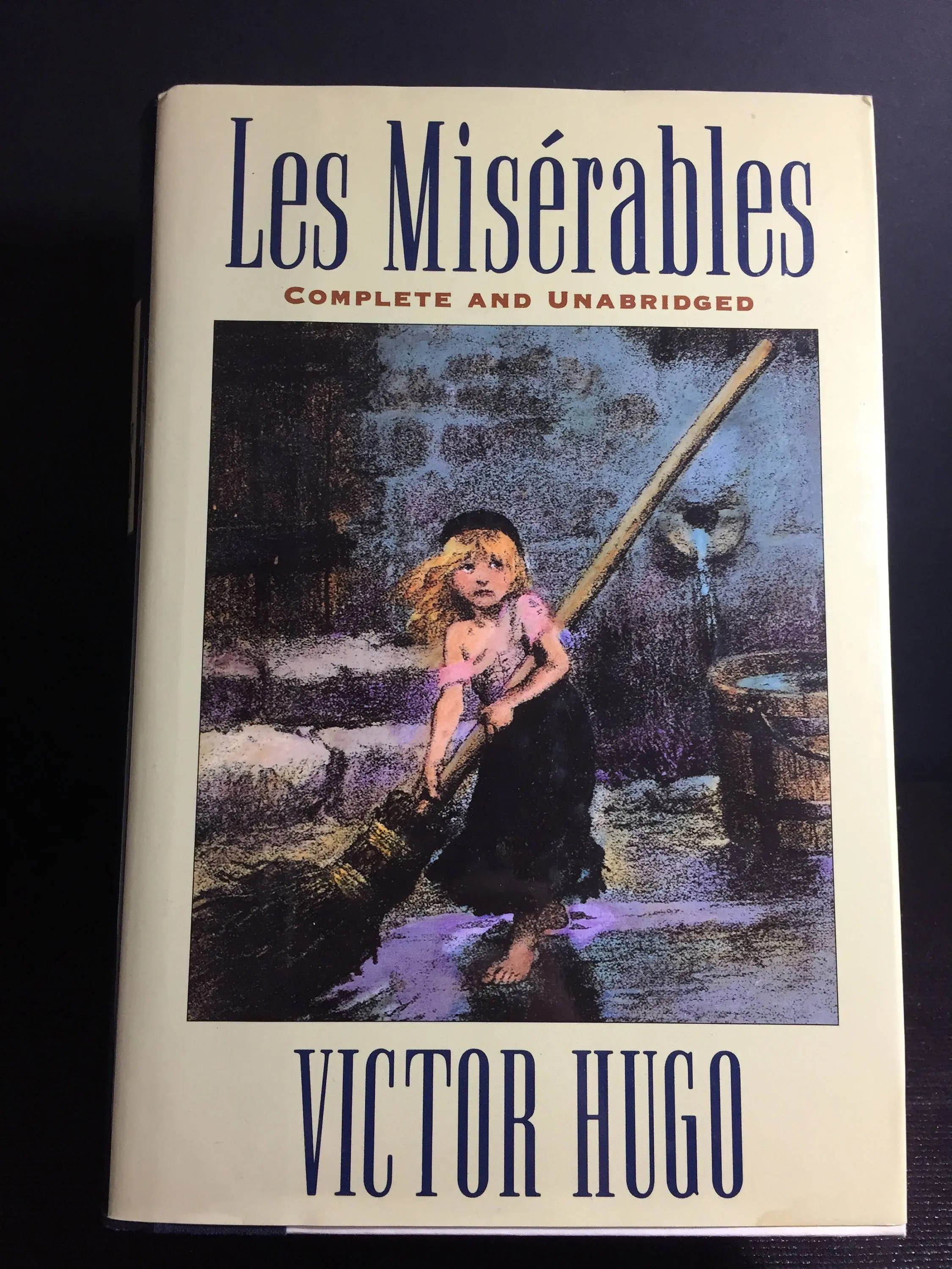 Mis Hogos Vintage Book Novel Les Miserables By Victor Hugo Barnes Noble Collectible Classic