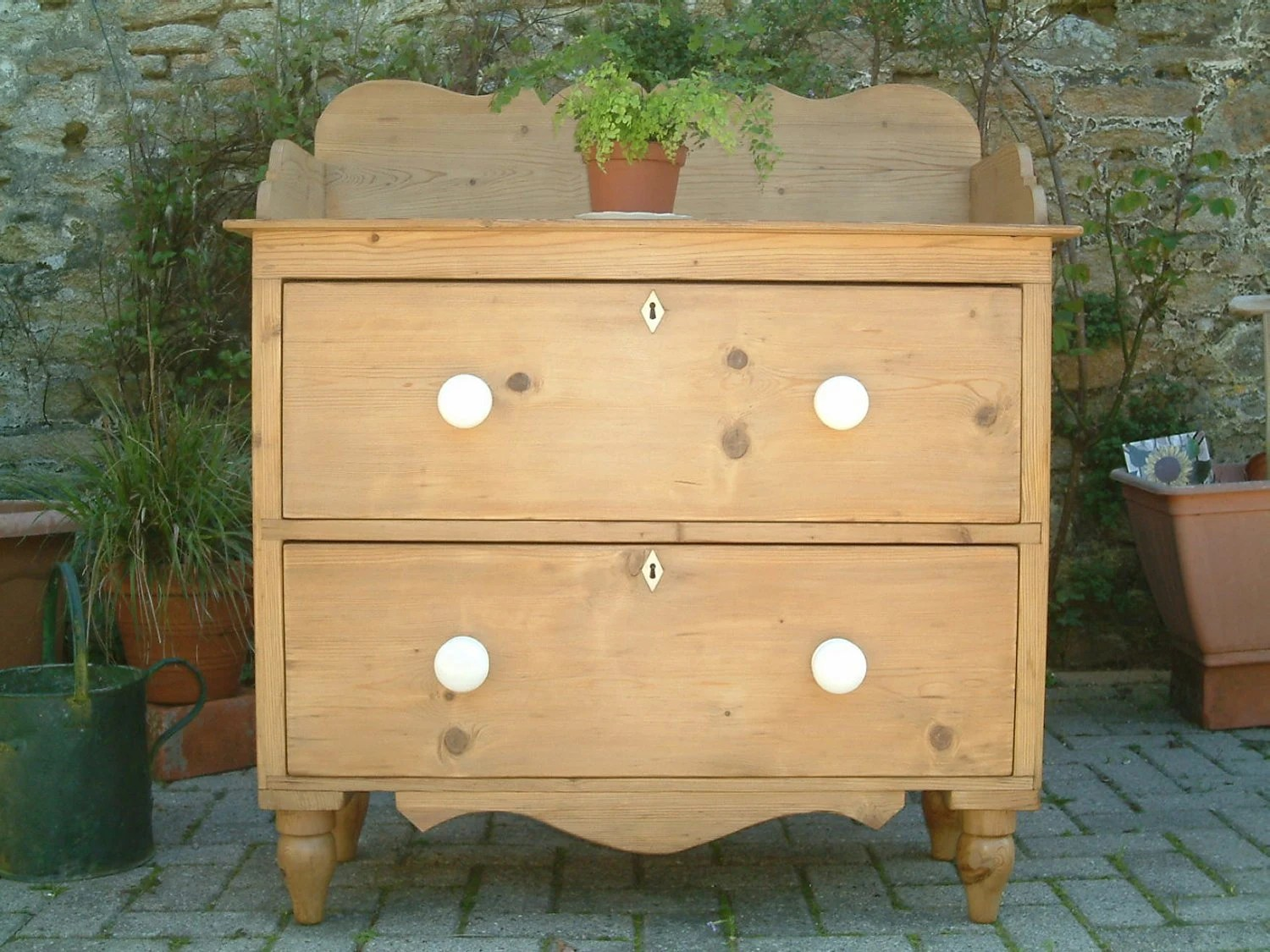 Victorian Pine Chest Of Drawers A Victorian Pine Chest Of Drawers