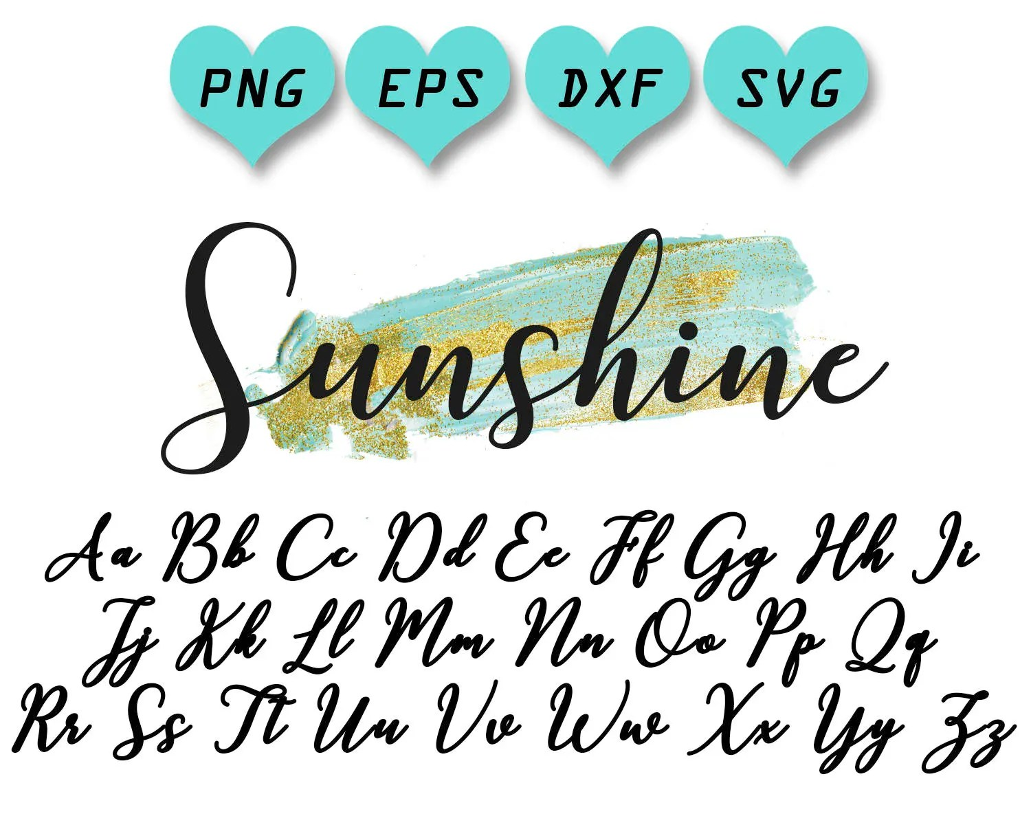 calligraphy svg calligraphy cut files calligraphy font svg Etsy
