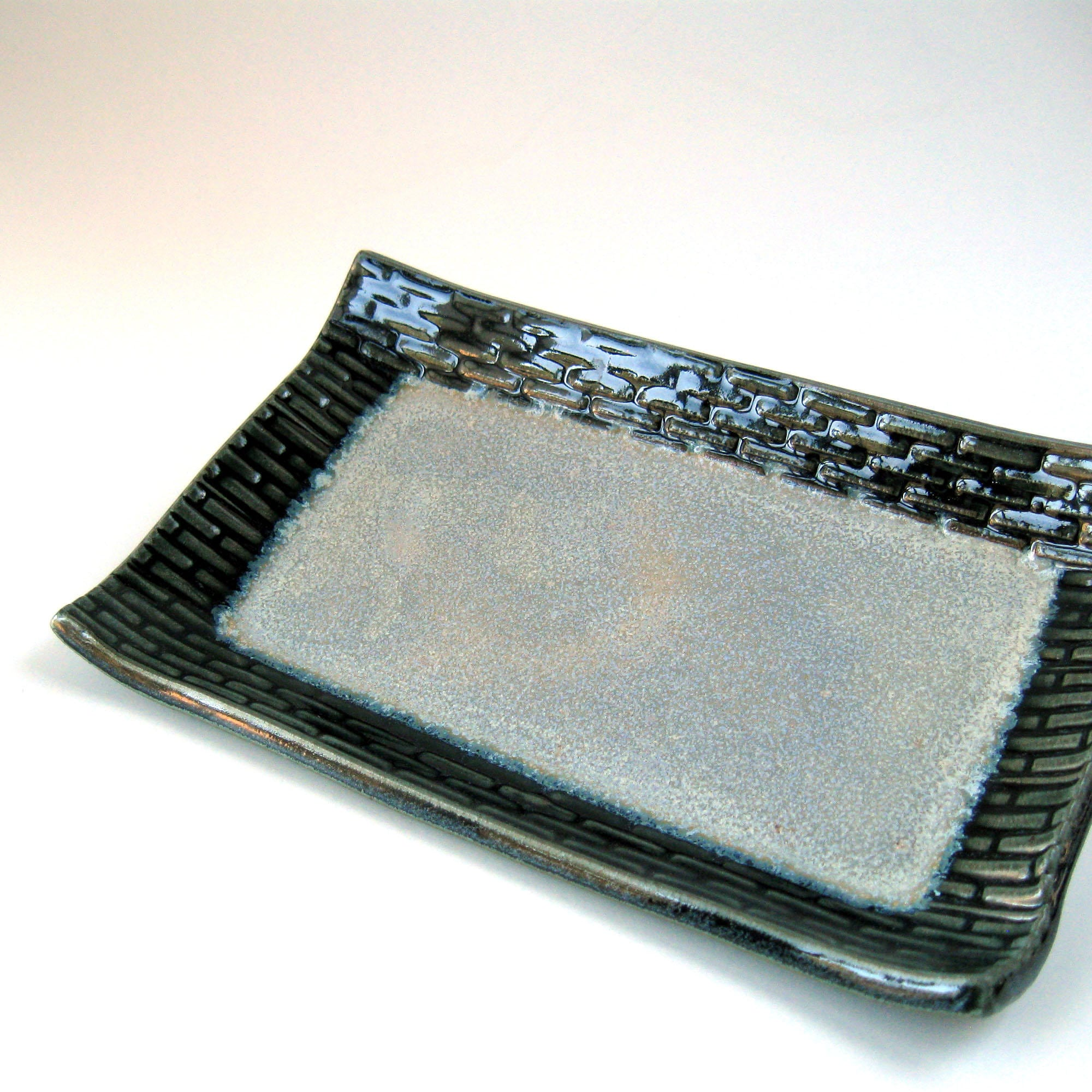Serviertablett Klein Small Blue Serving Tray Small Gray Serving Tray