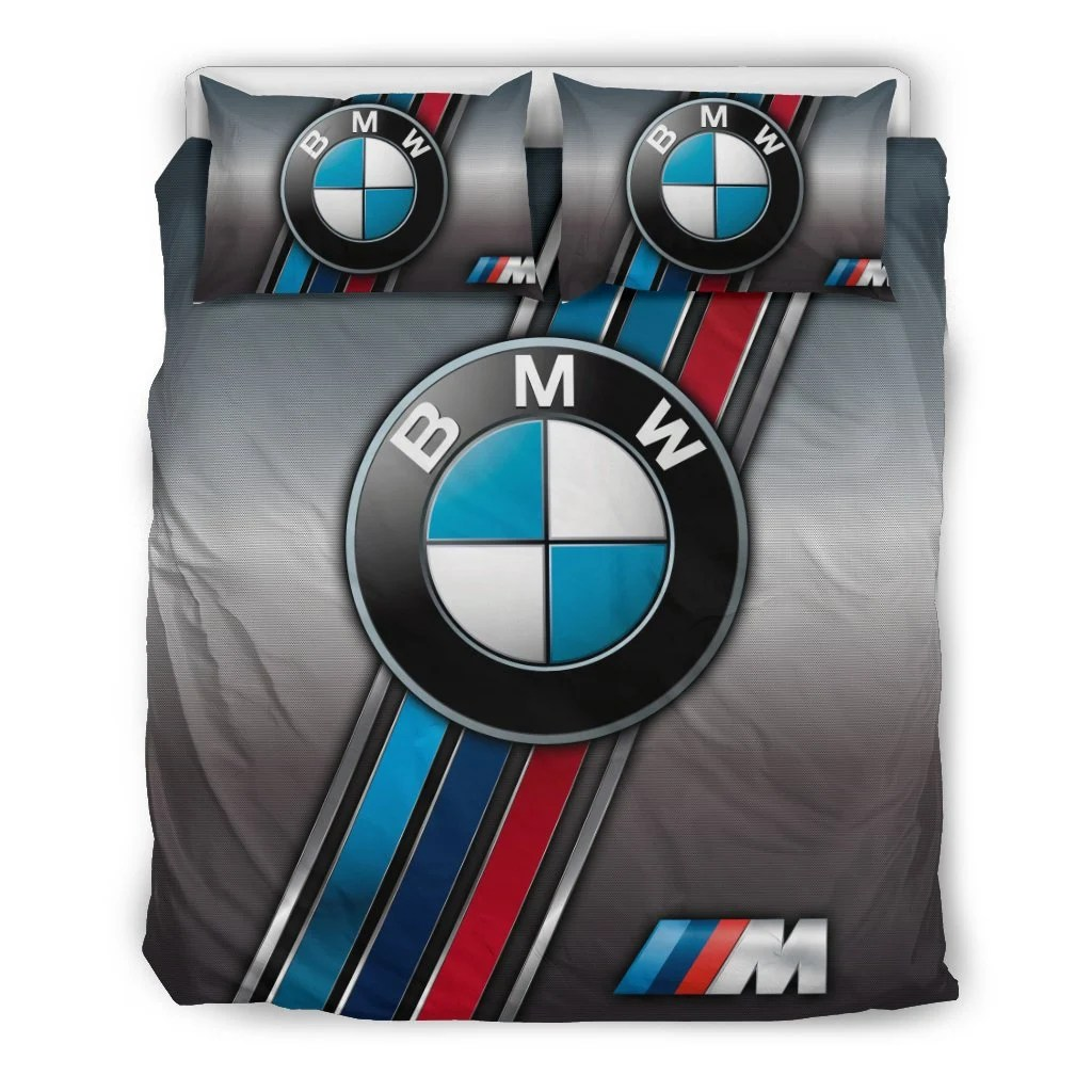 Audi Bettwäsche Bmw Stripes Silver Bedding Set
