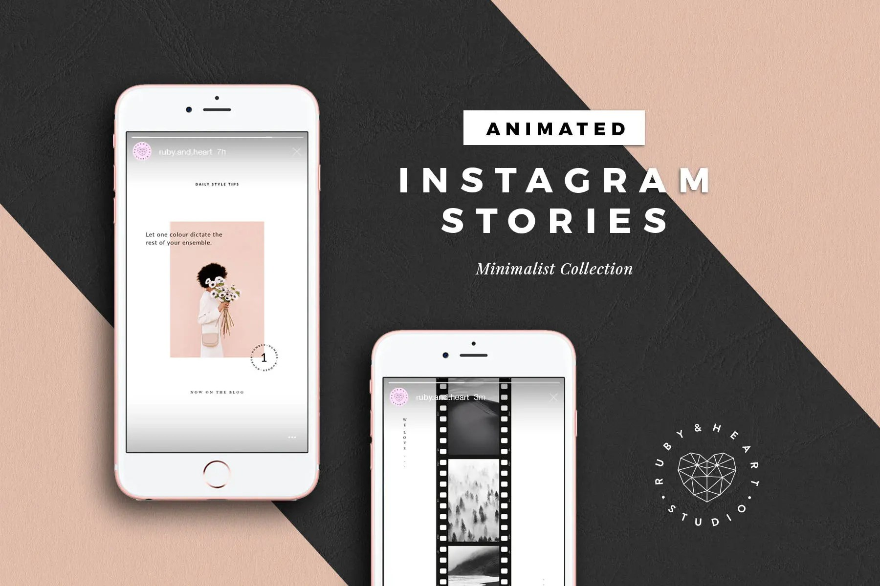 Cornici Storie Instagram Animated Instagram Story Template Video Instagram Stories Social Media Templates Instagram Template For Photographer Blogger Influencer