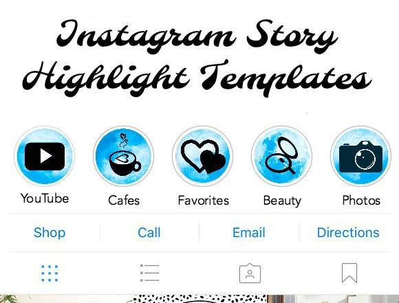 Instagram Story Cover Highlight Icons! (Perfect Blue Edition)