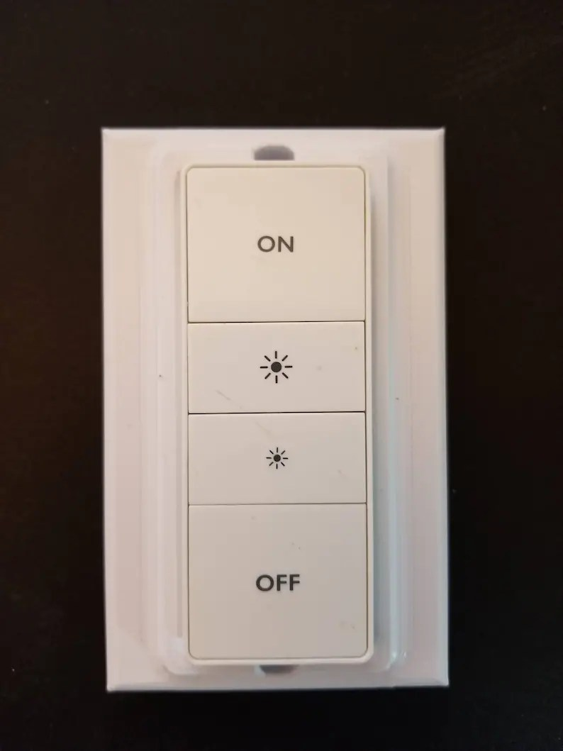 Philips Dimmer Philips Hue Stealth Decora Style Dimmer Switch Magnetic Cover Plate