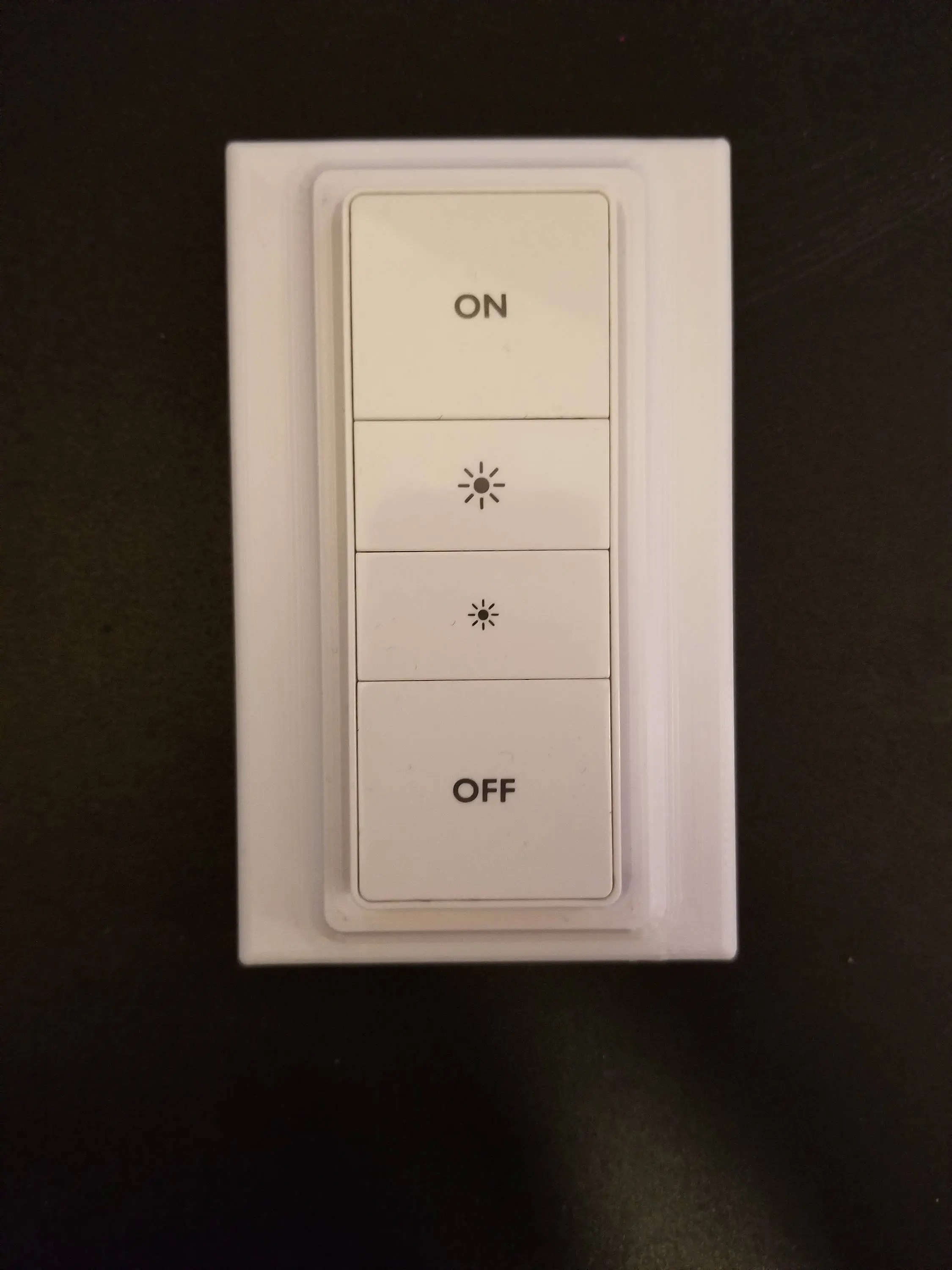 Philips Dimmer Philips Hue Stealth Dimmer Switch Magnetic Cover Plate