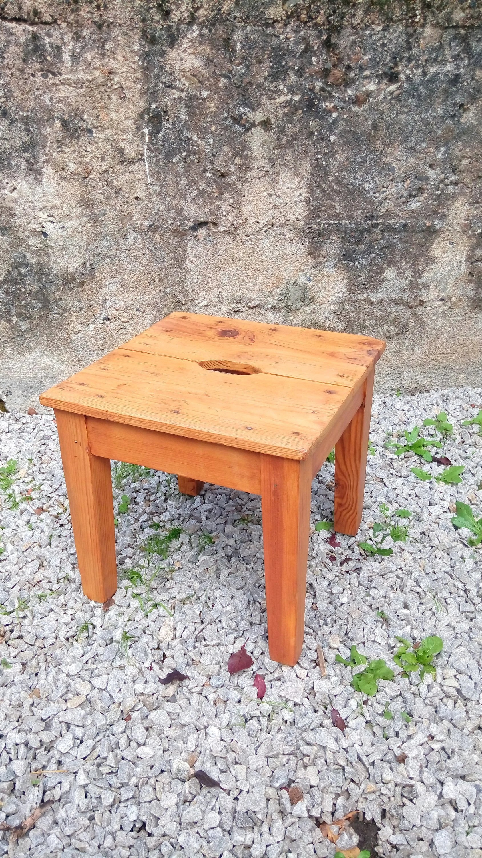 Table Rustique Ancienne Ancienne Table D Appoint Tabouret Rustique En Bois Tabouret Table Marche Pieds