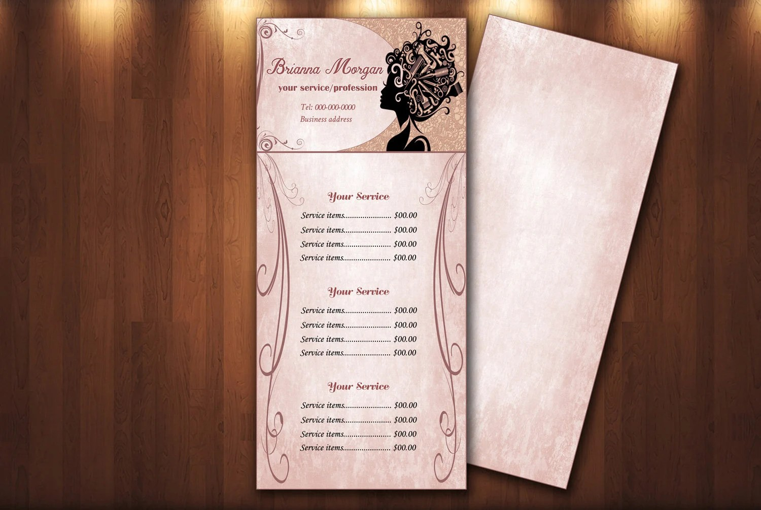 Beauty Salon Prices Beauty Salon Pricing Menu Price List Template Editable Service Price List Flyer Beauty Marketing Hair Salon Sign Digital Download