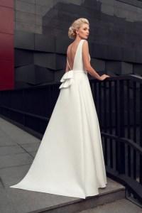 modern wedding gown modern wedding dress simple stylish | Etsy